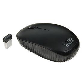 Мышь CBR CM-414, беспроводная, оптическая, 1200 dpi, 1xAA, USB, чёрная