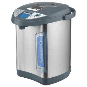 Термопот Mystery MTP-2453, 700 Вт, 4 л, режим поддержания температуры, хромированный