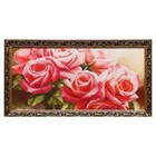 """Tapestry painting """"Bouquet of roses"""""""