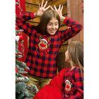 Джемпер для девочки, рост 134 см, цвет красный GFN4008/2