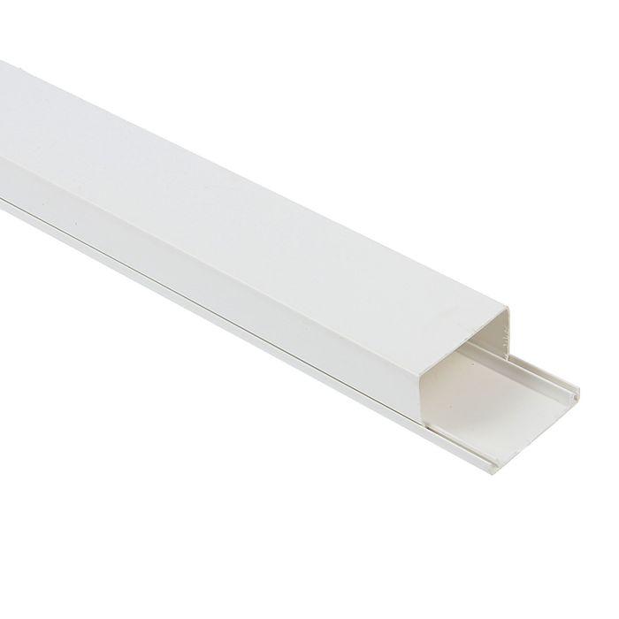 Кабель-канал T-plast, 40х25, 2 м, белый, 50.01.001.0009,