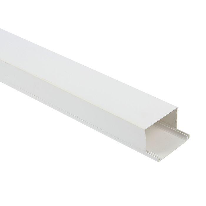 Кабель-канал T-plast, 60х40, 2 м, белый, 50.01.001.0011,