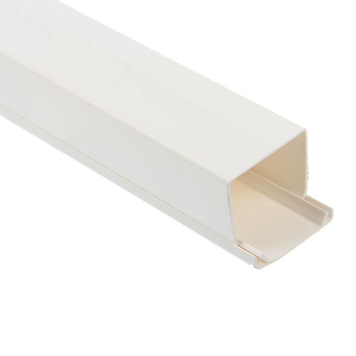 Кабель-канал T-plast, 40х40, 2 м, белый, 50.01.001.0010,