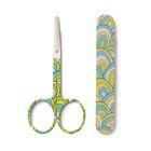 Детский маникюрный набор, 2 предмета: ножницы, пилочка для ногтей, от 0 мес.