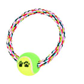 Игрушка веревочная Trixie с мячом 18 см / 6 см