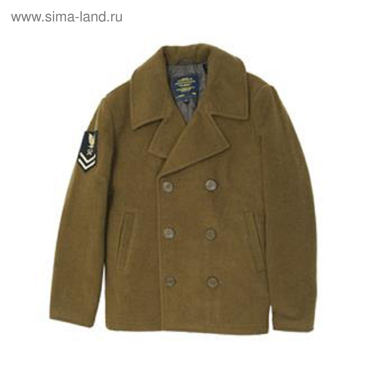 f20639815 Куртка Captain Pea Coat Alpha Industries moss M (1807224) - Купить ...
