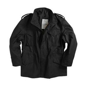 Куртка M-65 Black с подстежкой  Alpha Industries  XL Ош