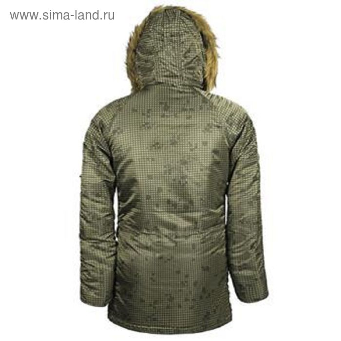 e3a2cc557871f Куртка Slim Fit N-3B Parka night vision camo Alpha Industries XL ...