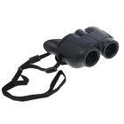 Бинокль 8х22, чёрный с раскосыми окулярами, 10х11.5 см