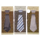 "Gift set: tie and kerchief ""Dear grandfather,"" MIX"