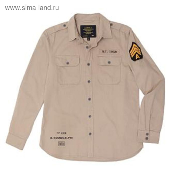 Рубашка Caliber Alpha Industries moss S
