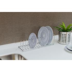 {{photo.Alt || photo.Description || 'Сушилка для посуды Доляна, 35,5×11×11 см, цвет хром'}}