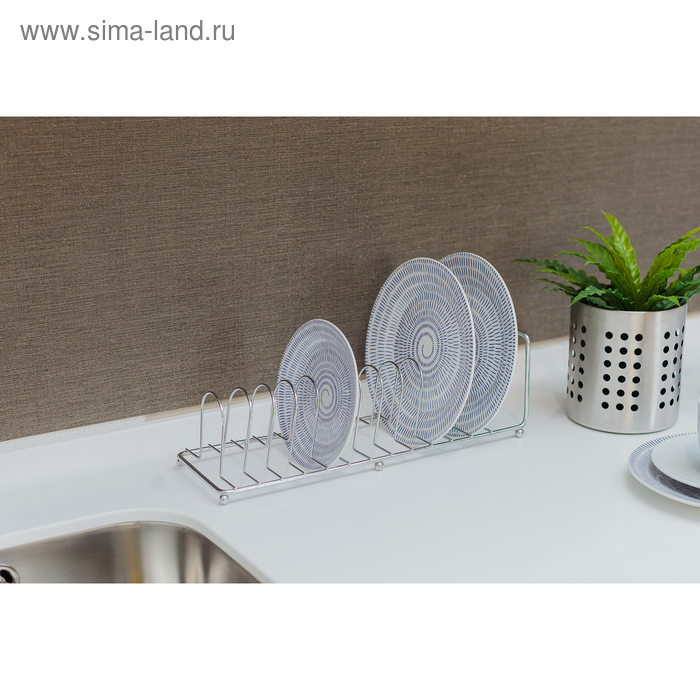 Dish rack for plates 13 items