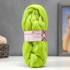 Wool for felting 100% fine wool 50g (193-St. Salat).