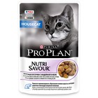 Влажный корм PRO PLAN для домашних кошек, индейка в желе, пауч, 85 г
