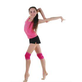 Наколенник гимнастический, размер S, цвет фуксия