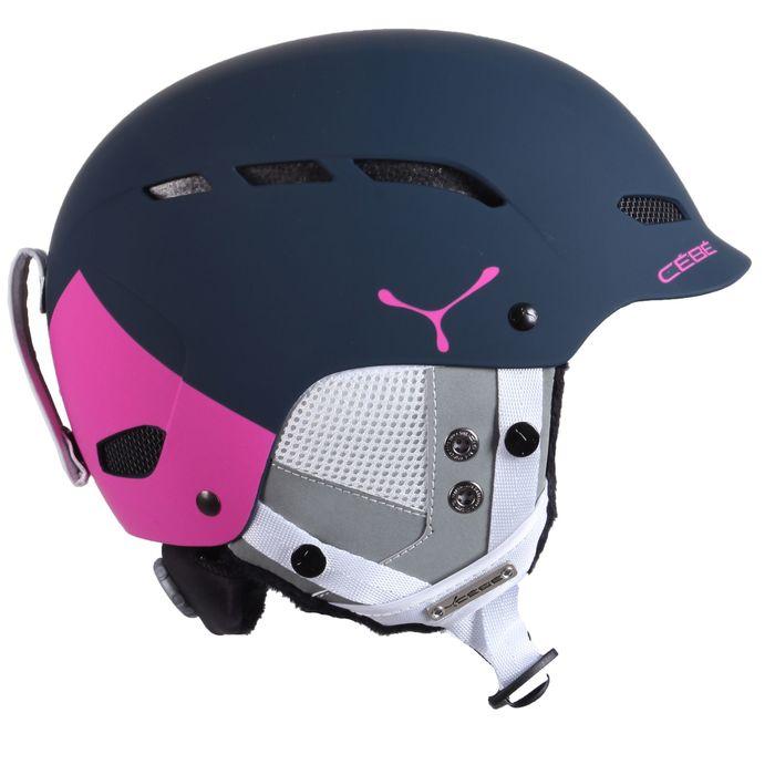 Шлем Cebe DUSK pink & blue block 52-55CM FW17