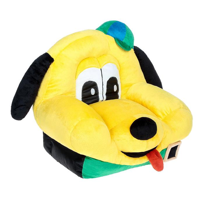 Мягкая игрушка «Кресло Собака Шарик», цвет жёлтый