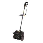 Снегоуборщик Huter SGC 1000Е, электрический, 1000 Вт, ковш 28/15 см, пластиковый шнек