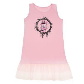 """Сарафан для девочки""""В тренде"""", рост 134 см (68), цвет розовый ДПС348804"""