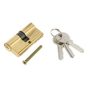 Цилиндровый механизм AL 60 РB, английский ключ, цвет латунь