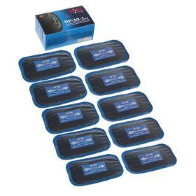 Пластырь резинокордный ПР-10-1 х.в,для радиальных шин,60x105 мм,1 слой корда,набор 10 шт