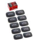Пластырь резинокордный ПР-10, для радиальных шин, 55x75 мм, 1 слой корда, набор 10 шт.