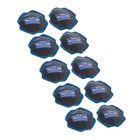 Пластырь резинокордный для диагональных шин ПД-2 х.в, 80х80 мм, 2 слоя корда, набор 10 шт.