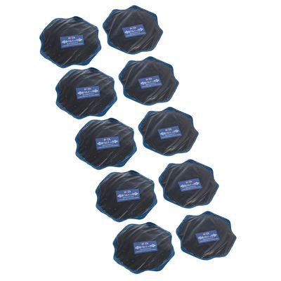 Пластырь резинокордный для диагональных шин ПД-5 х.в, 120х120 мм, 2 слоя корда, набор 10 шт   177827
