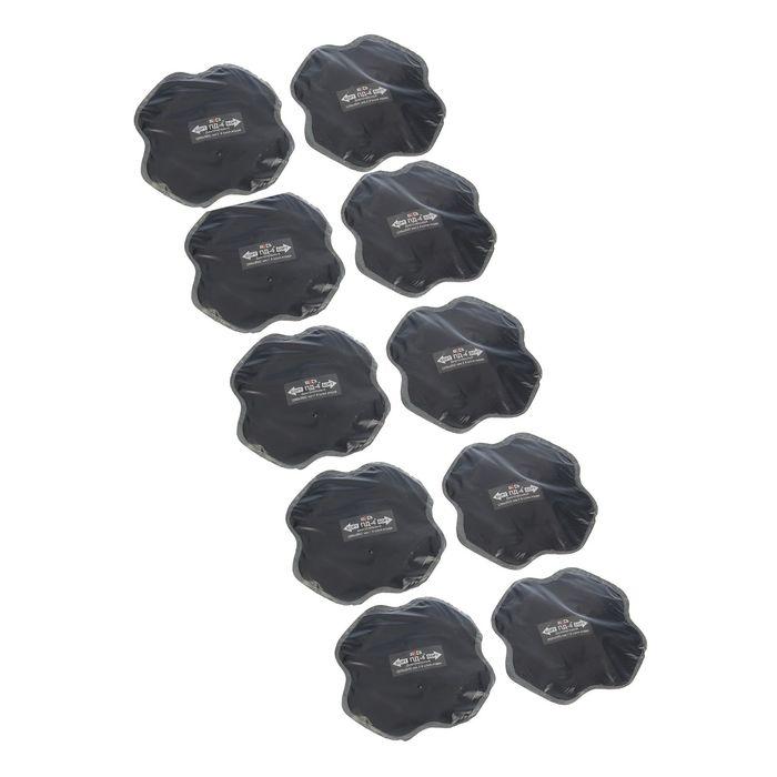 Пластырь резинокордный ПД-4*, 200х200 мм, 4 слоя корда, набор 10 шт - фото 1673936