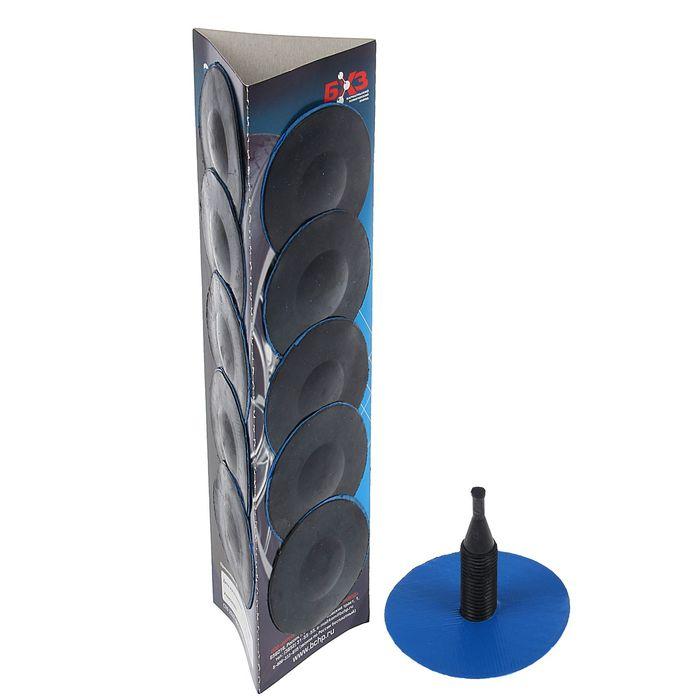 Грибок Г-5, до 4 кгс/см2, 15х80 мм, холодной вулканизации, набор 14 шт.