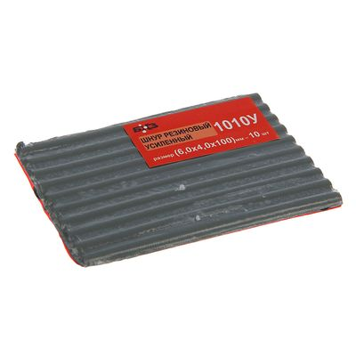 Жгут резиновый 1010У, усиленный, 6х4х100 мм, набор 10 шт.