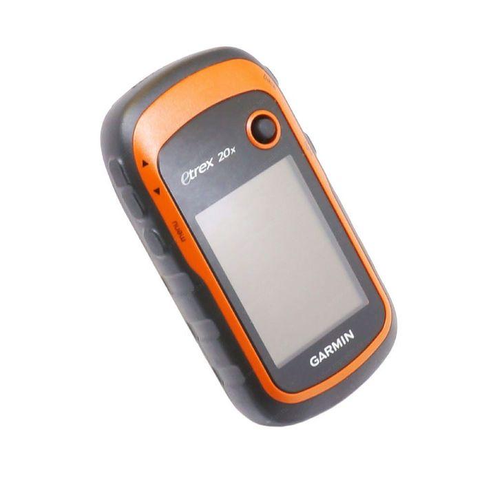 GPS-навигатор Garmin eTrex 20x, GPS, GLONASS Дороги РФ