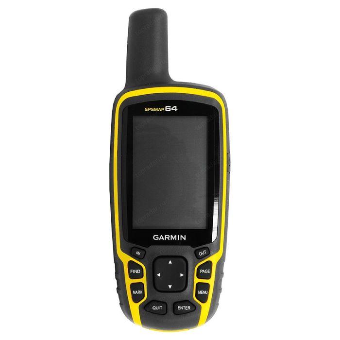 Навигатор туристический Garmin GPSMAP 64 RUS Дороги РФ