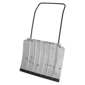 Движок алюминиевый, размер ковша 60 × 75 см, металлическая планка