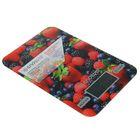 """Весы электронные кухонные Endever SkylineKS-528, до 5 кг, LED-дисплей, """"ягоды"""""""