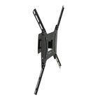 """Кронштейн Kromax OPTIMA-402, для ТВ, наклонно-поворотный, 15""""-55"""", 68.5 мм от стены, черный"""
