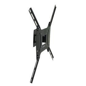 """Кронштейн Kromax OPTIMA-402, для ТВ, наклонно-поворотный, 15-55"""", 68.5 мм от стены, черный"""