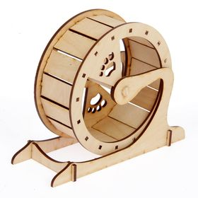Колесо для грызунов d=15 cм, 20 х 8 х 16 см Ош