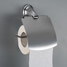 """Держатель для туалетной бумаги с крышкой """"Шарм"""""""