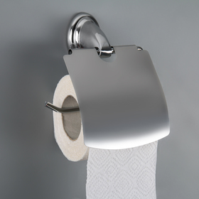 The toilet paper holder with lid charm
