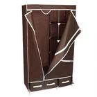 Шкаф для одежды и обуви 95х45х165 см, 3 ящика, цвет кофейный