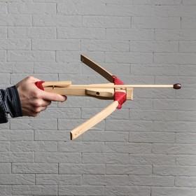 """Сувенир деревянный """"Арбалет со стрелами"""", 52 см"""