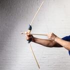 """Сувенир деревянный """"Лук со стрелами"""", 73 см"""