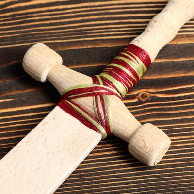 """Сувенир деревянный """"Шашка с точеной ручкой"""", 52 см, массив бука"""