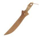 """Сувенир деревянный """"Нож"""", 35 см, массив бука"""