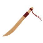 """Сувенир деревянный """"Нож с точеной ручкой"""", массив бука"""