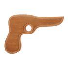 """Сувенир деревянный """"Пистолет"""", 20 см, массив бука"""