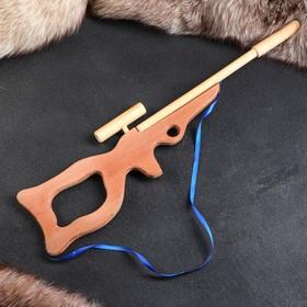 """Сувенирное деревянное оружие """"Снайперская винтовка"""", 51 см, массив бука"""