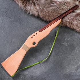 """Сувенирное деревянное оружие """"Ружьё охотничье"""", массив бука"""